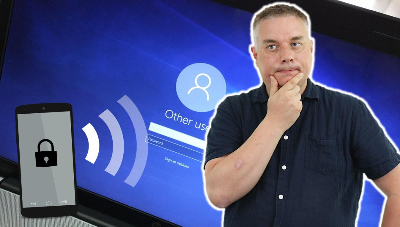 Hvordan låse PC med Mobilen og Bluetooth