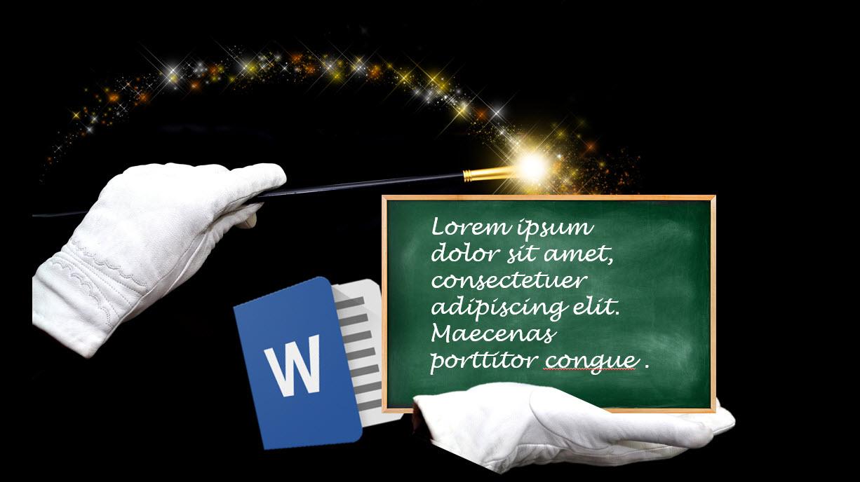 Hvordan lage Dummytekst i Word og Powerpoint