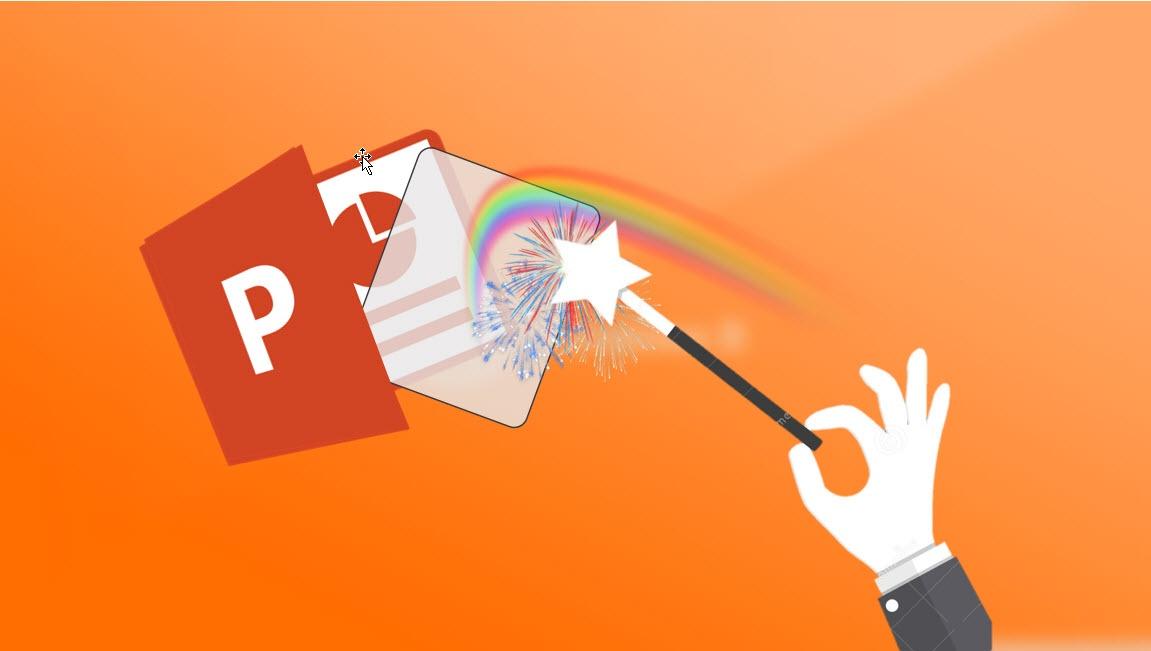 Hvordan lage et transparent gjennomsiktig bilde i PowerPoint