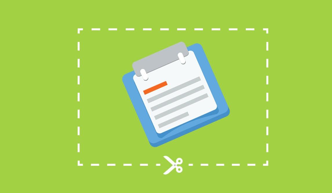 Hvordan sette skjermklipp inn i Word eller Powerpoint