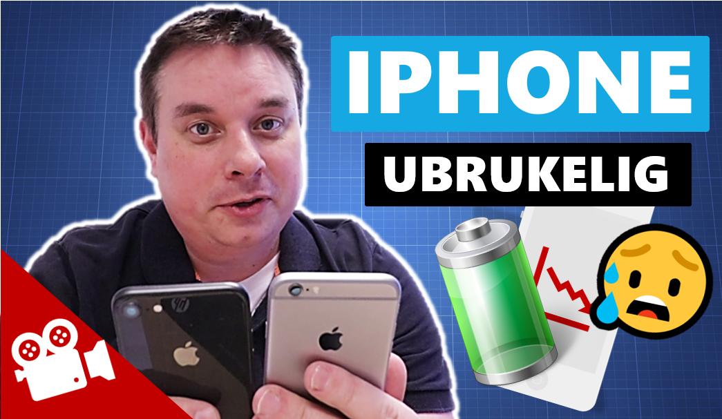 AGS Videoblogg #2 – Hvorfor blir en iPhone ubrukelig?
