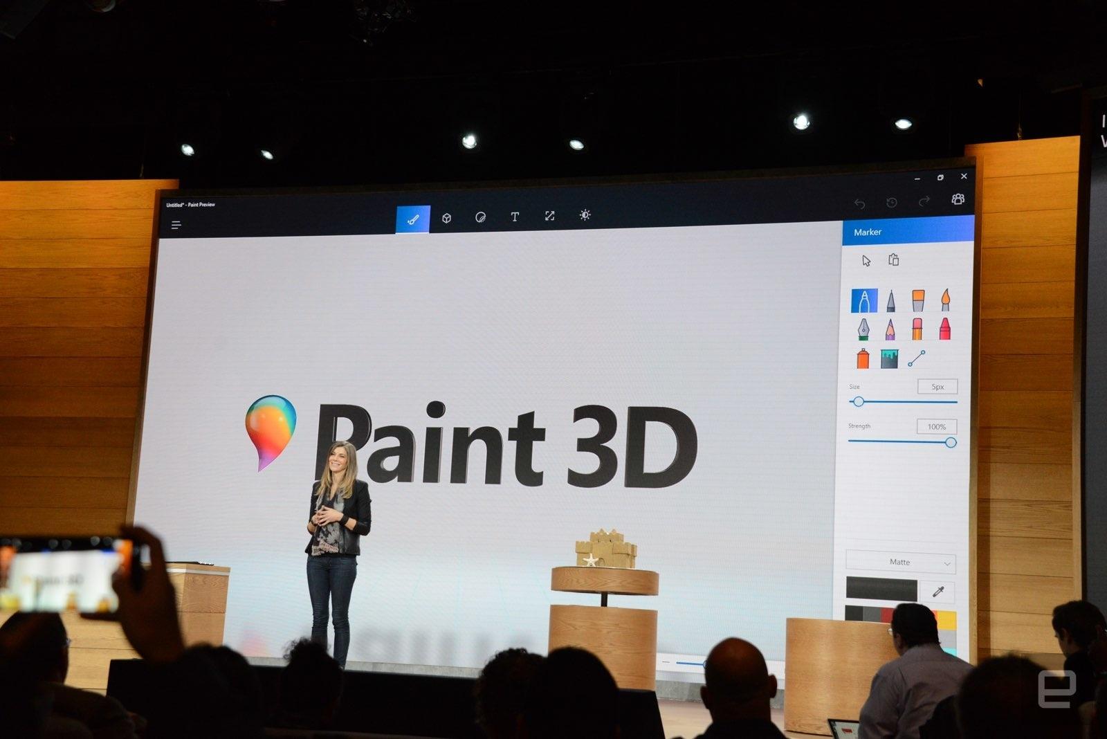 Slik fungerer den nye Windows Paint 3D