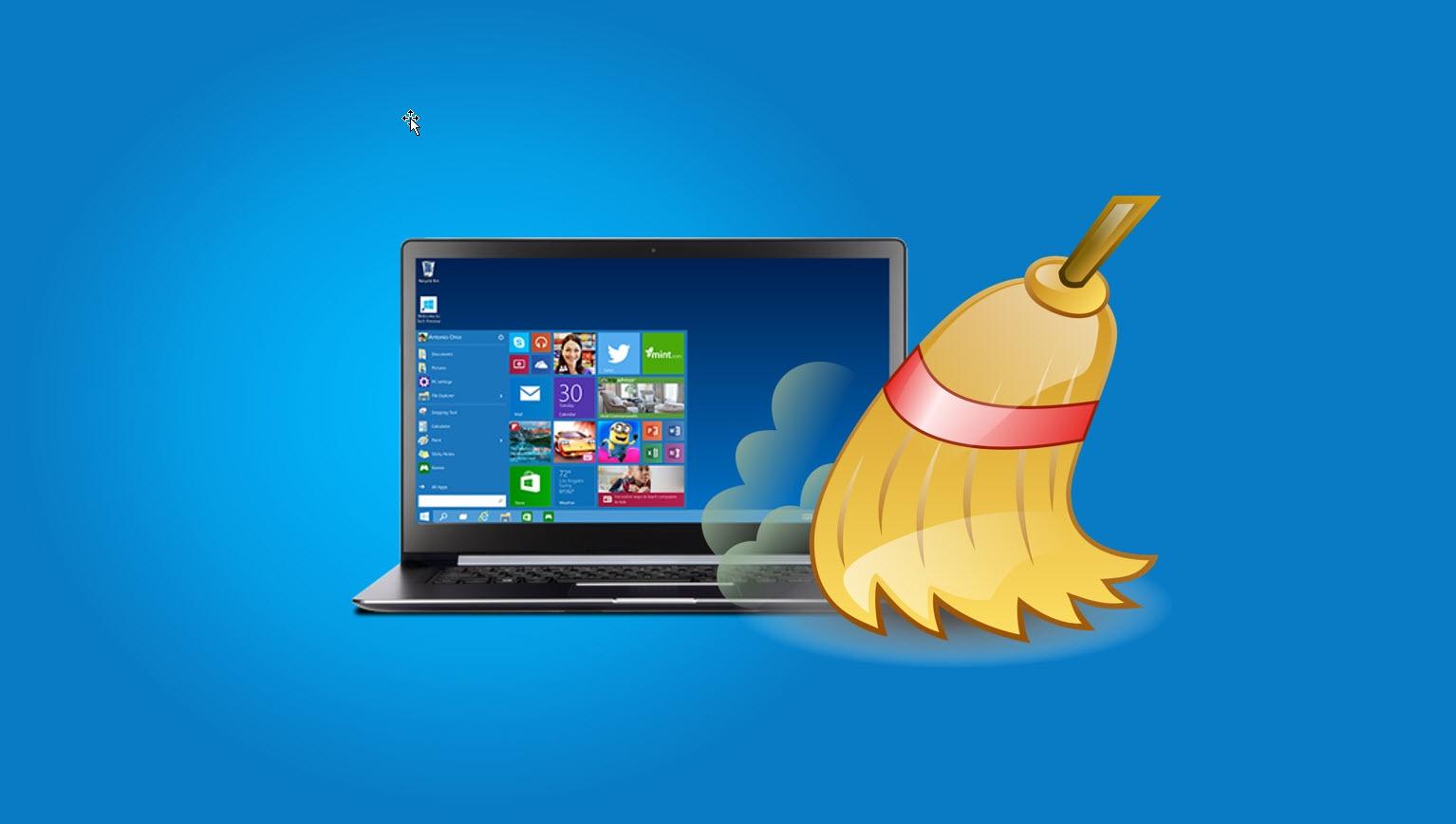 Slik kan du rydde i Windows og frigjøre plass.