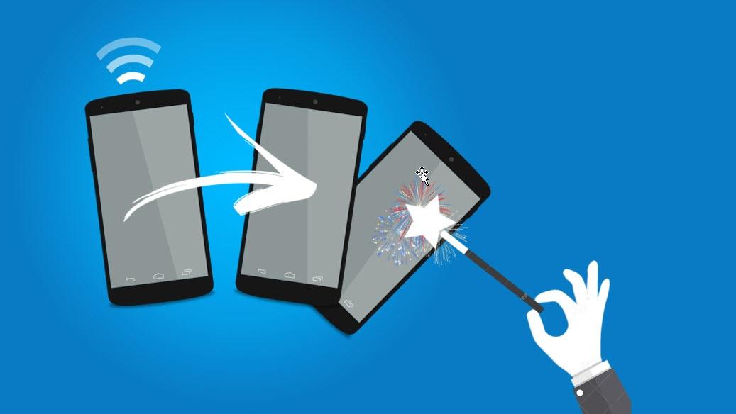 Hvordan dele internett fra mobilen på iPhone og Android?