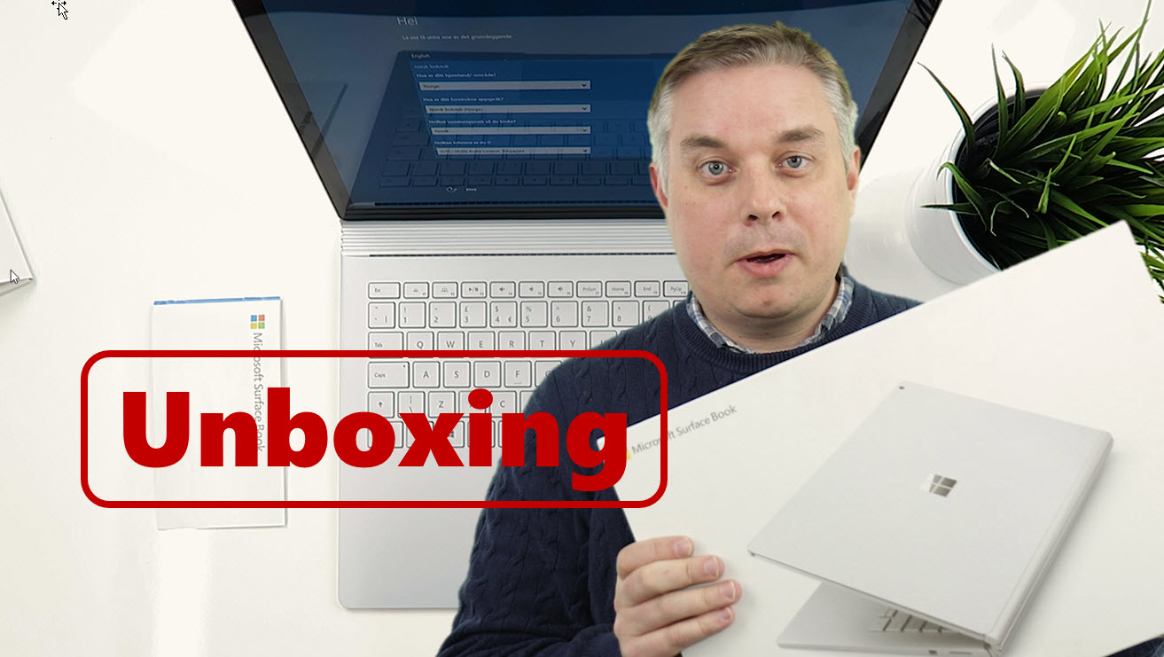 Unboxing og test av Microsoft Surface Book