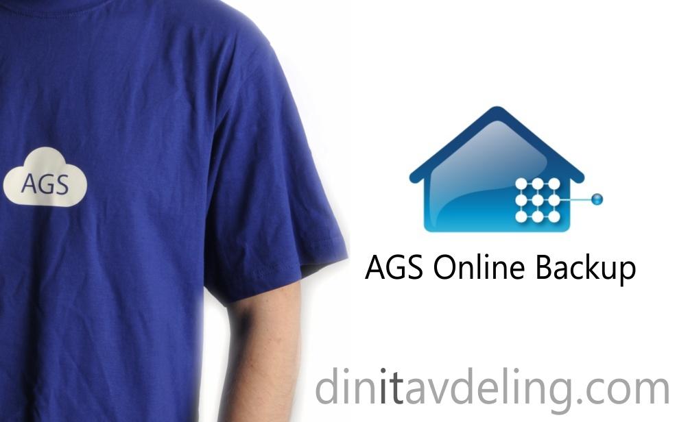 AGS Online Backup fra 249,- pr. mnd.