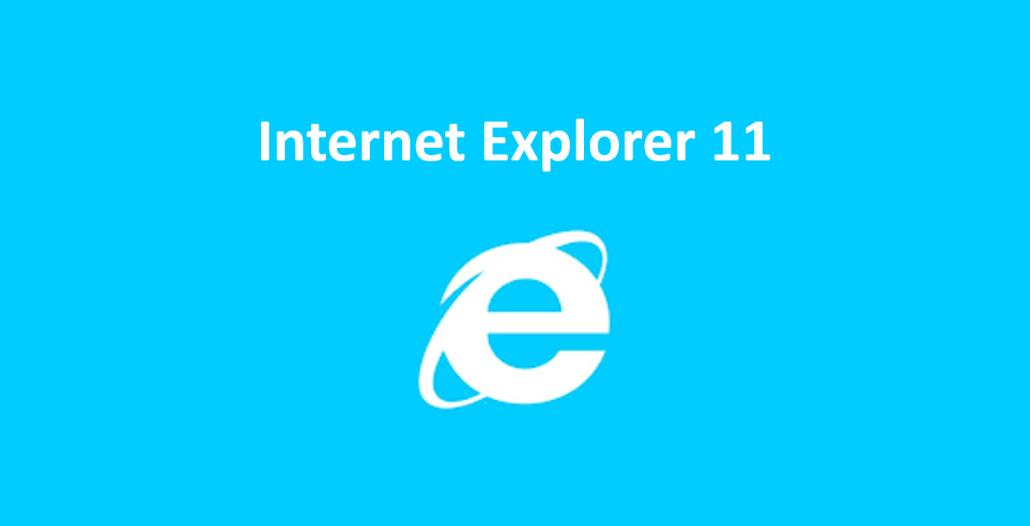 Har du husket å oppdatere Internet Explorer?