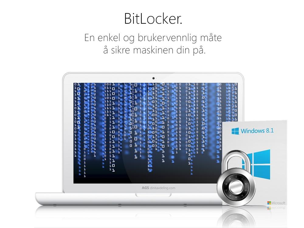Sikker PC med BitLocker