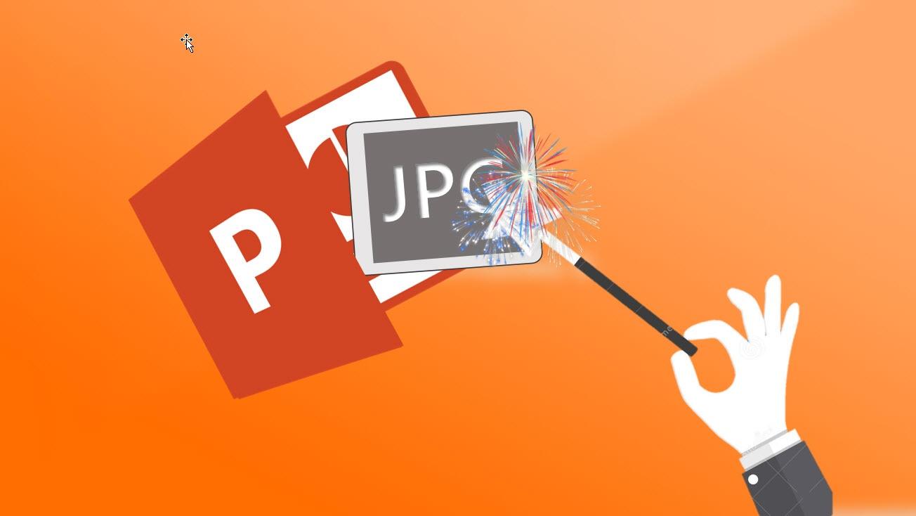 Hvordan lagre PowerPoint som JPG bilde