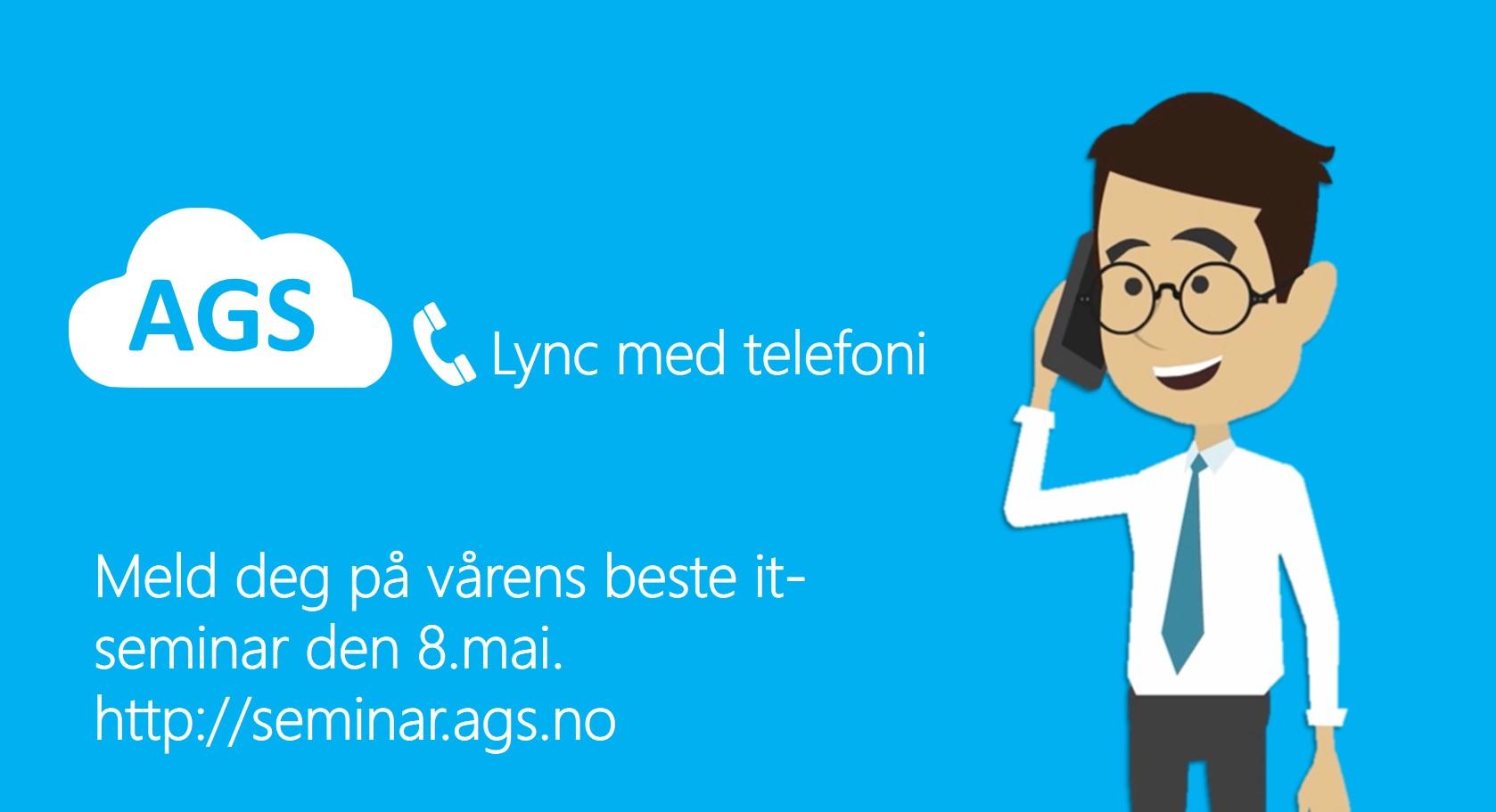 Opplev Lync med telefoni