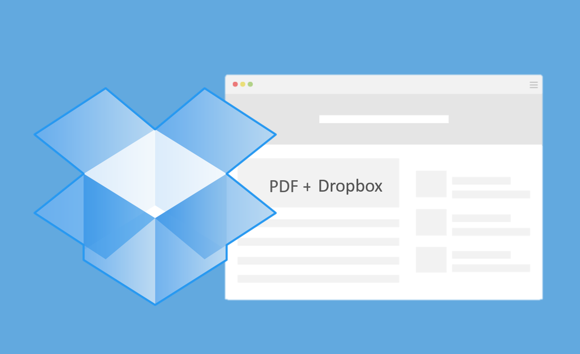 Nå har Adobe og Dropbox inngått partnerskap.