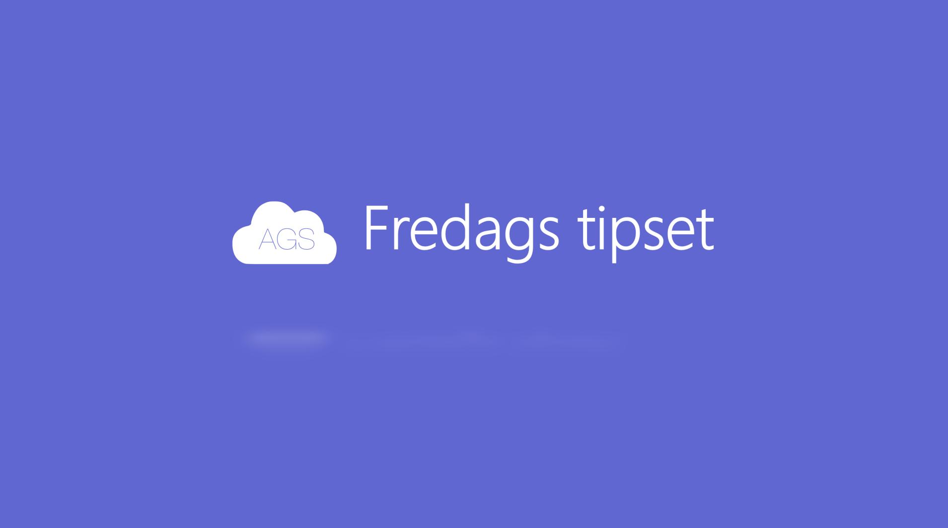 AGS Fredags tipset: Slik tar du backup av e-posten din i Outlook