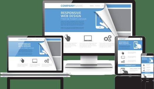 Responsivt design på flere nettsteder