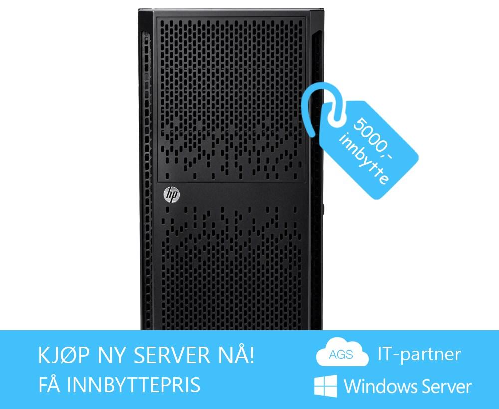 Nå har vi Serverkampanje hos AGS IT-partner igjen!