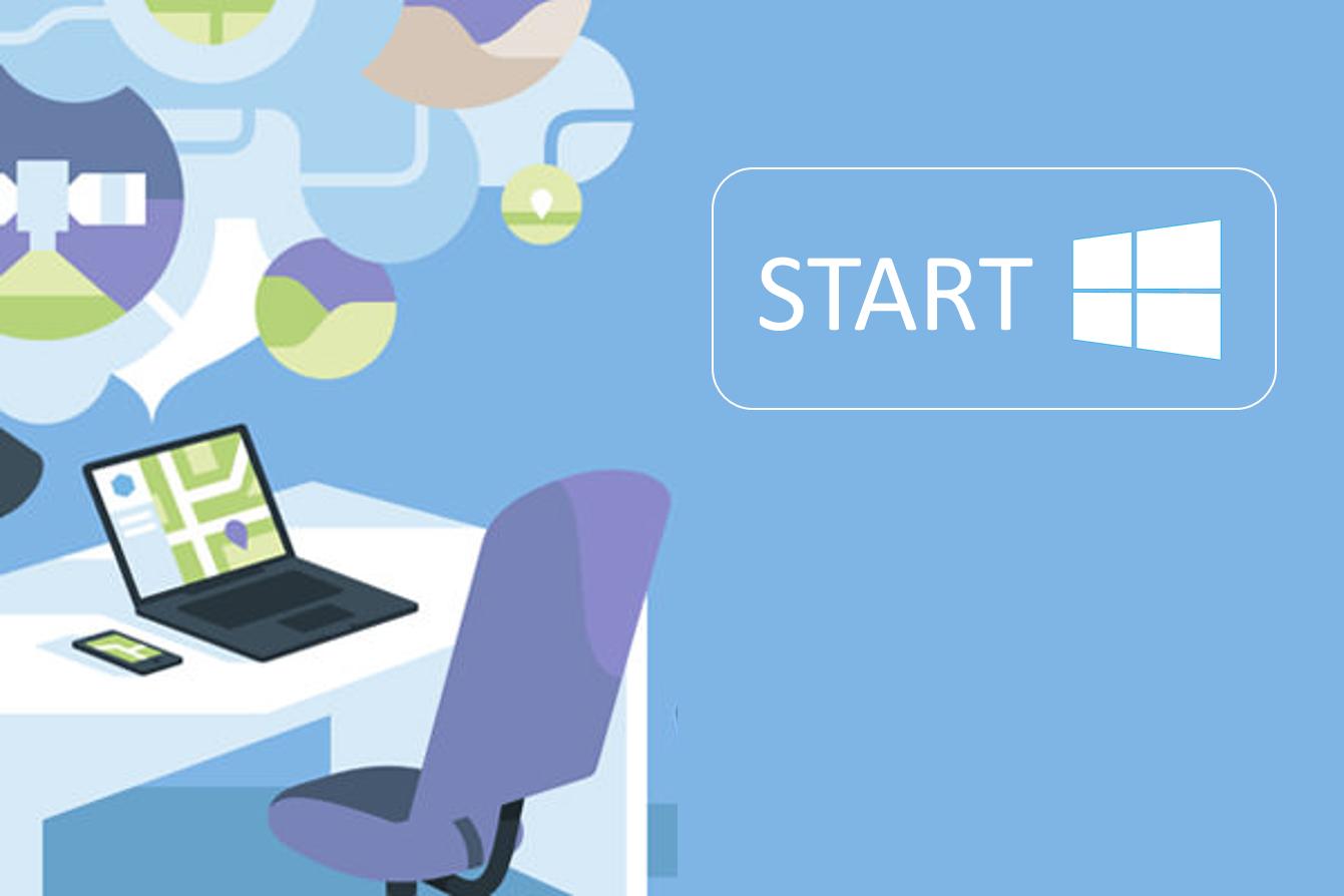Se hvordan du bruker den nye startmenyen i Windows 10