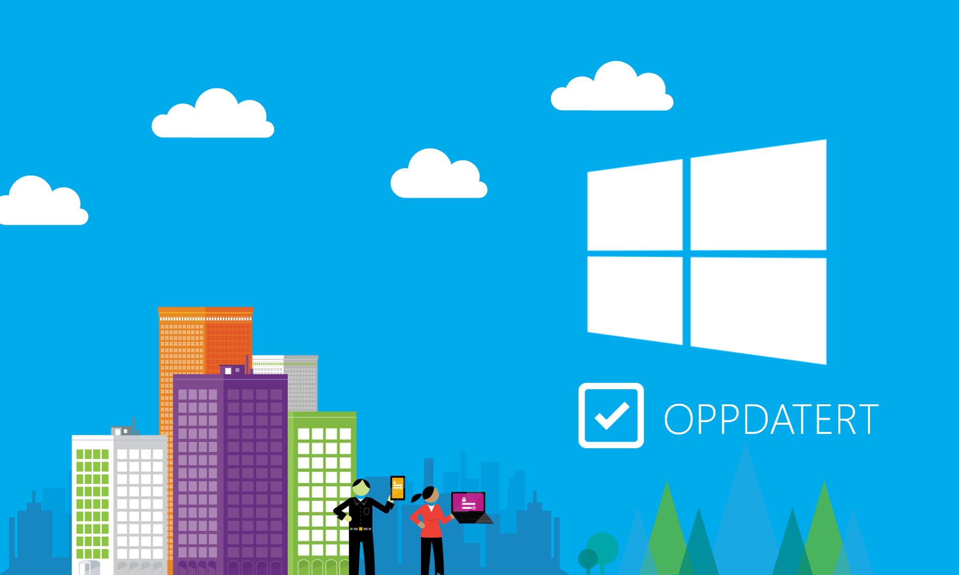 Se hva som blir nytt i Windows 10