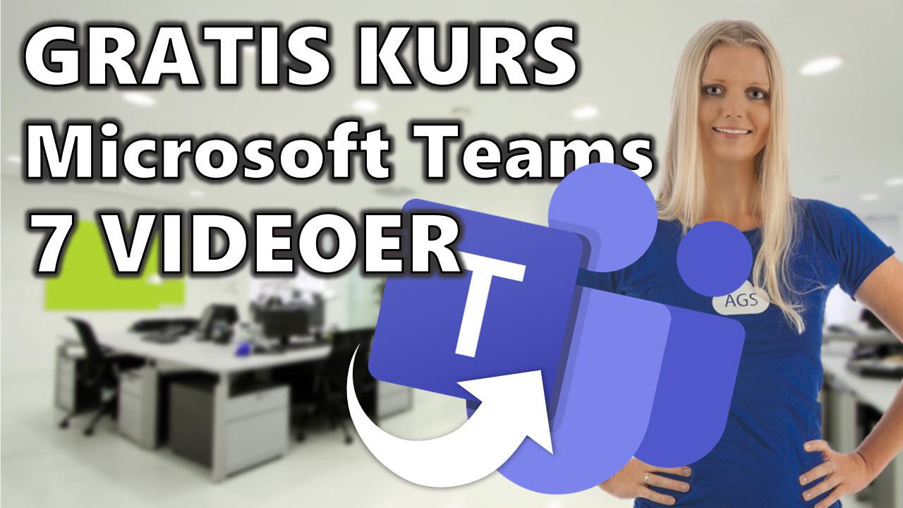 GRATIS videokurs - Hvordan komme igang med Microsoft Teams