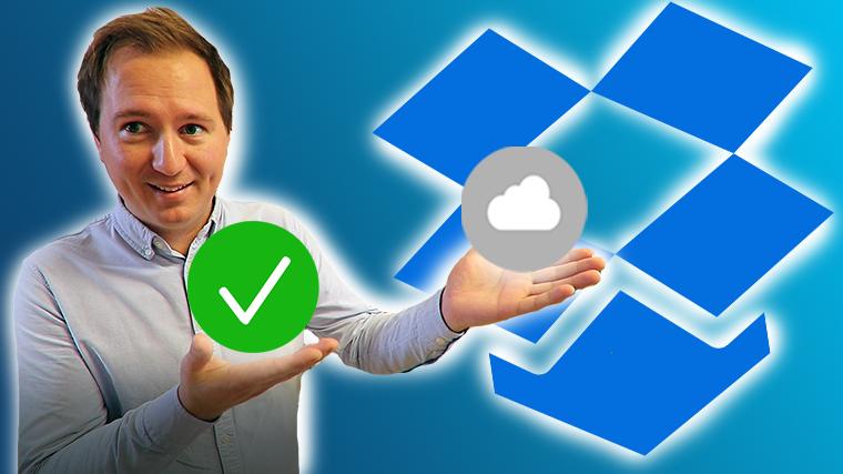 Hvordan bruke smart synkronisering iDropbox for bedrifter