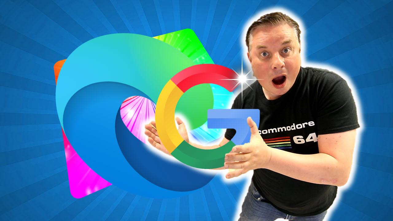 Hvordan få Google som søkemotor Microsoft Edge