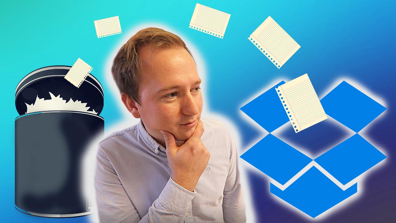 Hvordan gjenopprette filer i Dropbox