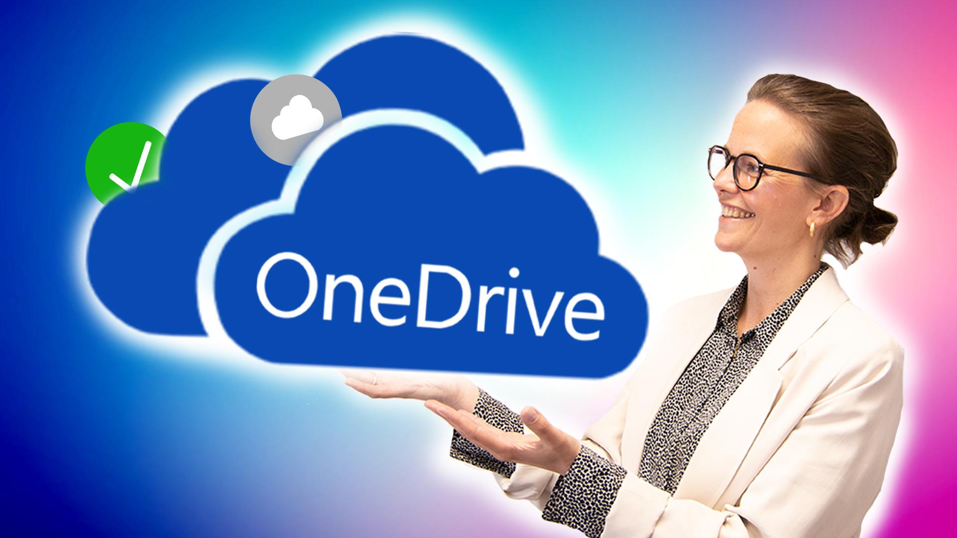 Hvordan kan du synkronisere i OneDrive