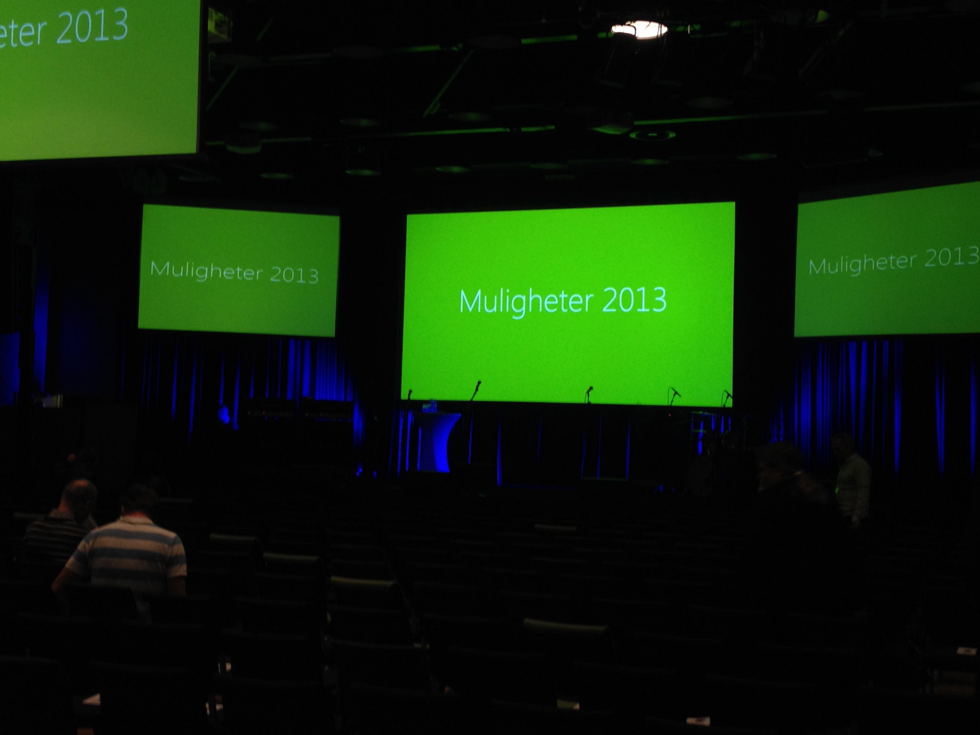 Vi var på Microsoft Muligheter 2013