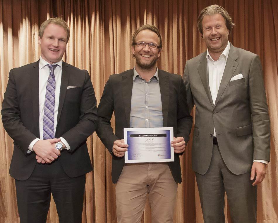 Vi vant! Årets Microsoft SMB Partner