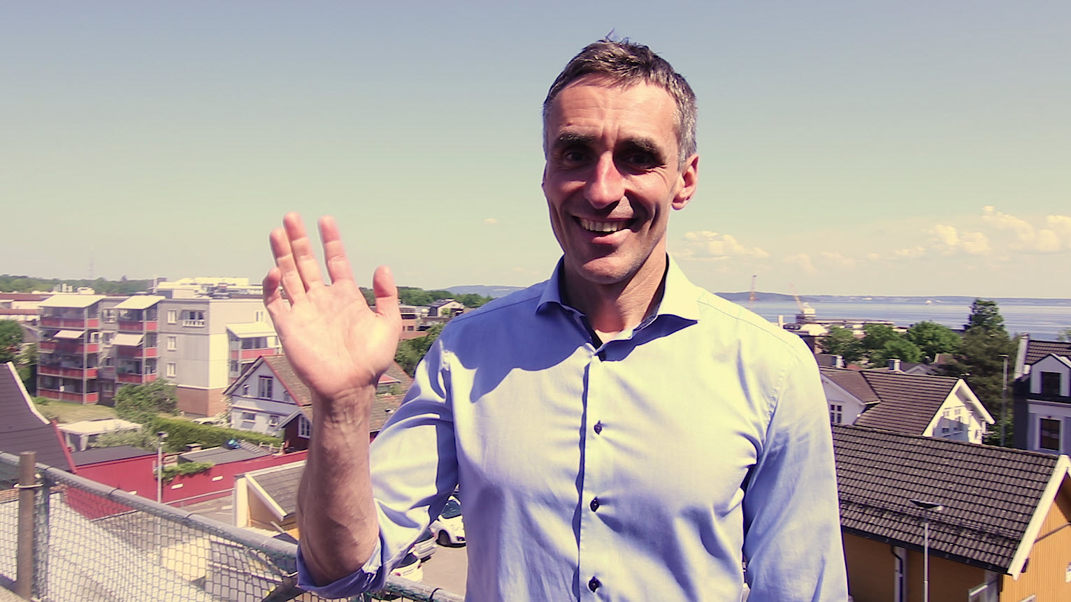 På Sommerterrassen - Intervju med HPE Partnersjef Xavier Ducasse