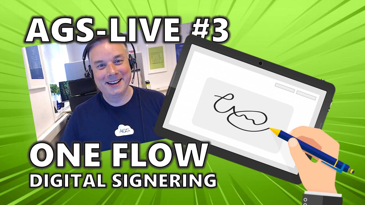 Hvordan bruke OneFlow - Løsning for Digital Signering